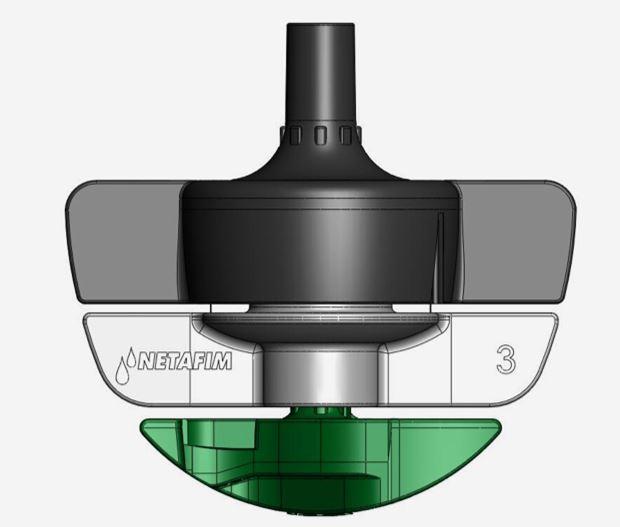 SpinNet Sprinkler irrigation