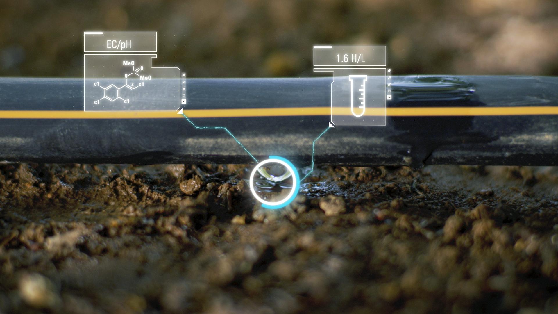 Irrigation system sensors